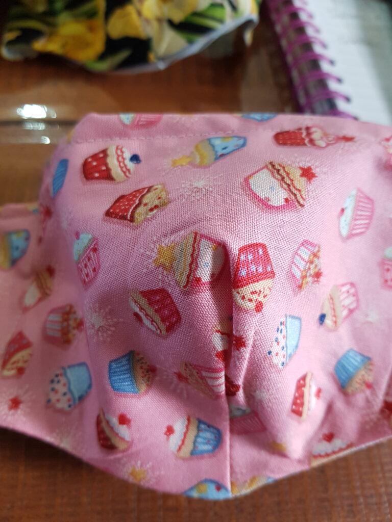 Cupcakes facemask antifog