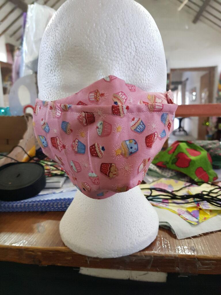 Cupcakes Antifog Face Mask